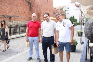 Назарян Давид Назаретович и Сенюк Андрей Николаевич в Латвии