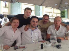 Давид Назаретович Назарян с Андреем Михайловичем Дыбовым прошли обучение трехмерного проектирования ортогнатических операций