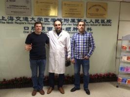 Курс по микрохирургии в Шанхае