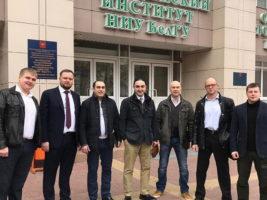 Давид Назарян и Андрей Дыбов выступили с докладами на научном форуме в Белгороде